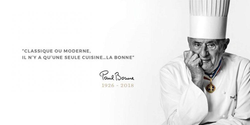 Décès de Paul Bocuse, un monstre sacré de la cuisine