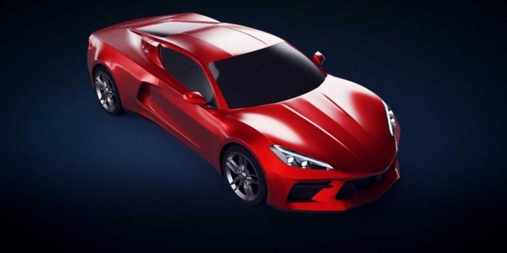 Voici à quoi pourrait ressembler la Corvette C8