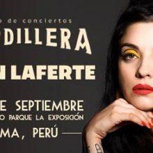Mon Laferte en concierto en Lima