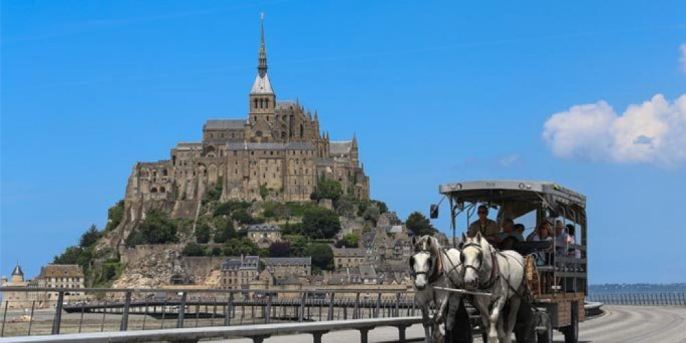 Le Mont Saint-Michel, merveille de l'Occident