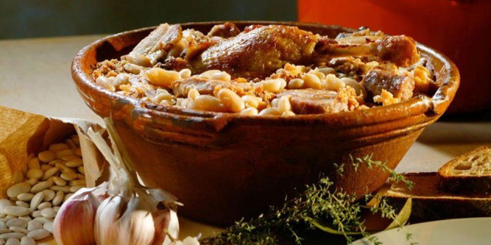 El cassoulet – especialidad regional de Languedoc