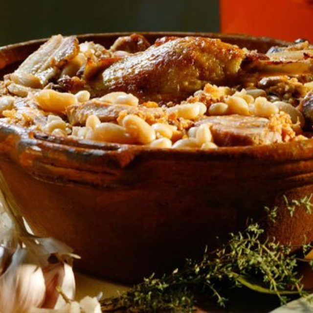 Le cassoulet – spécialité régionale du Languedoc