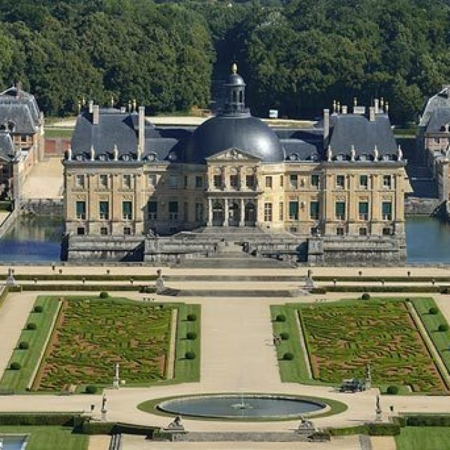 Château de Vaux-le-Vicomte, trésor français