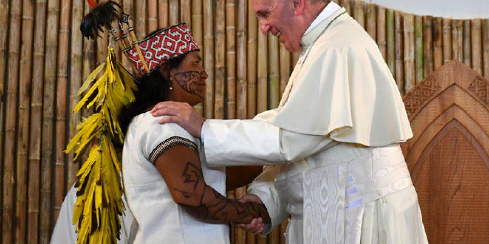 Le Pape François au chevet des «blessures» de l'Amazonie